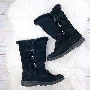 White Mountain Slip On Boots